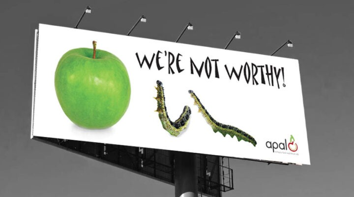 apples billboard