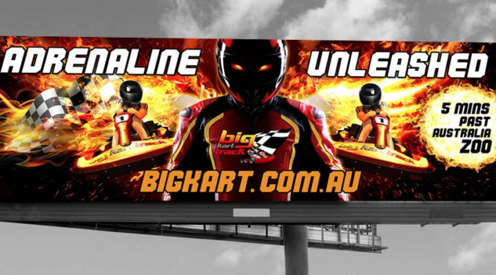 big kart billboard