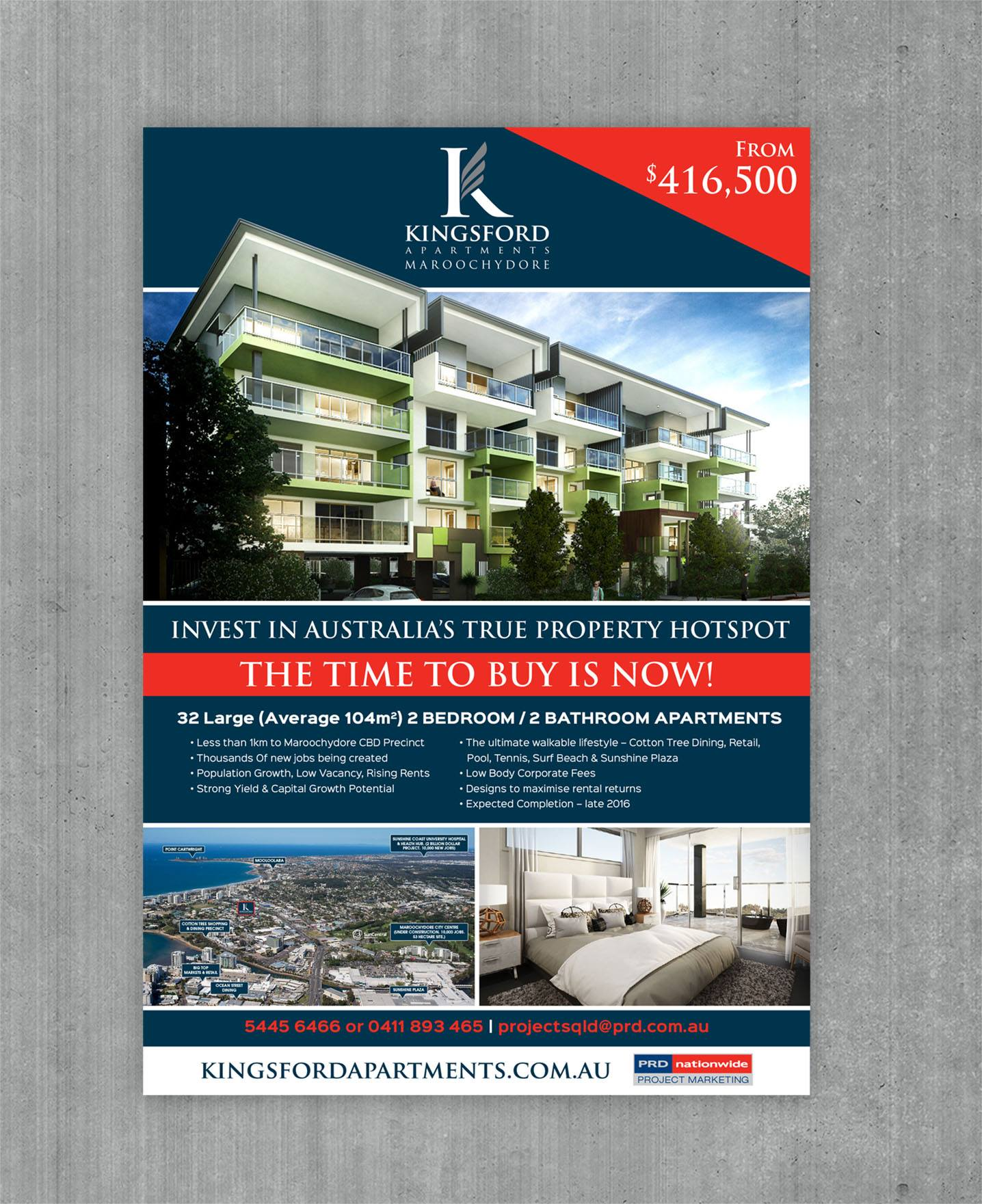 Ads For Apartments: Kingsford Apartments
